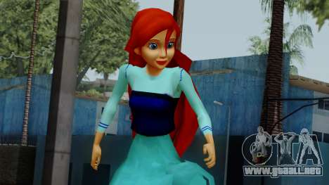 Ariel (Human Version) para GTA San Andreas
