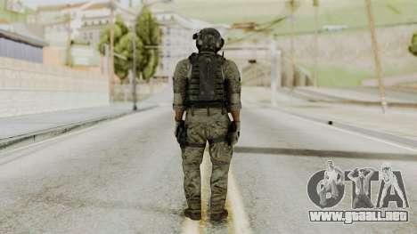 Derek Frost from CoD MW3 para GTA San Andreas tercera pantalla