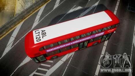 Wrightbus New Routemaster Abellio London para GTA 4 visión correcta