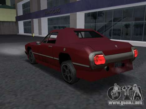 New Stallion para visión interna GTA San Andreas