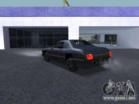 New Stallion para vista inferior GTA San Andreas