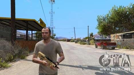 GTA 5 TAR-21 из Battlefield 4 tercera captura de pantalla