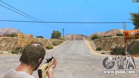 GTA 5 TAR-21 из Battlefield 4 cuarto captura de pantalla