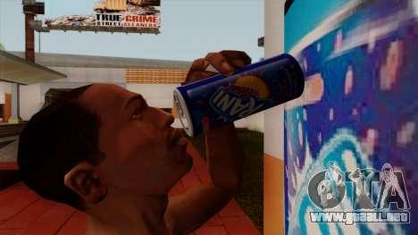 Rani Juice Can para GTA San Andreas segunda pantalla