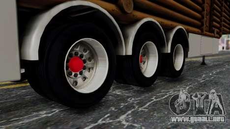Scania Showtrailer Cabaña para la visión correcta GTA San Andreas