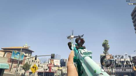 GTA 5 Rifle de asalto de Anime sexta captura de pantalla