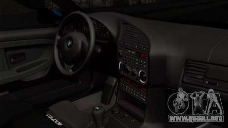 BMW M3 E36 79 para la visión correcta GTA San Andreas