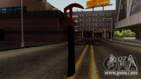 El hacha Del Bosque para GTA San Andreas tercera pantalla