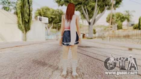 DOA 5 Kasumi Scarfed Frock para GTA San Andreas tercera pantalla