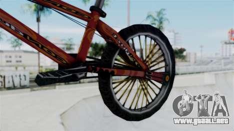 Bike from Bully para la visión correcta GTA San Andreas