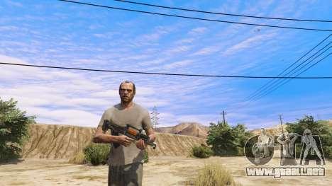 GTA 5 OTS-14 Groza de Battlefield 4 segunda captura de pantalla