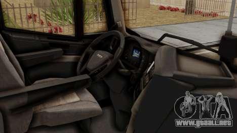 Iveco Truck from ETS 2 v2 para la visión correcta GTA San Andreas