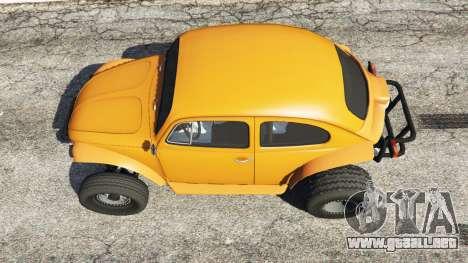 GTA 5 Volkswagen Beetle Baja Bug [Beta] vista trasera