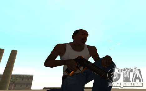 Nitro Weapon Pack para GTA San Andreas segunda pantalla