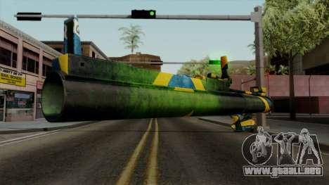 Brasileiro Heatseek v2 para GTA San Andreas tercera pantalla