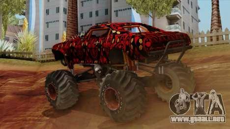 The Batik Big Foot para GTA San Andreas left