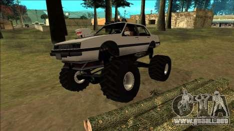 Willard Monster para las ruedas de GTA San Andreas
