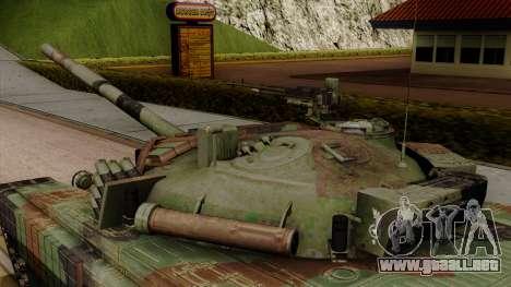 PT-91A Twardy para la visión correcta GTA San Andreas