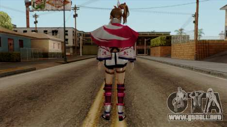 Sengoku Musou 3 - Kunoichi para GTA San Andreas tercera pantalla