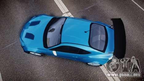Subaru BRZ Rocket Bunny para GTA 4 visión correcta