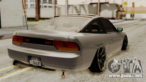 Nissan 240SX HQ para GTA San Andreas left