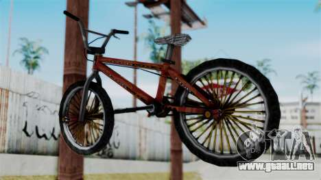 Bike from Bully para GTA San Andreas left