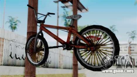 Bike from Bully para GTA San Andreas left