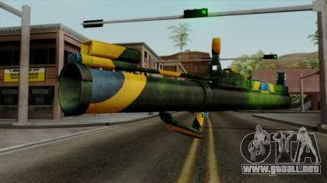 Brasileiro Heatseek v2 para GTA San Andreas segunda pantalla