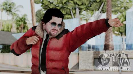 Willis Huntley from Far Cry 4 para GTA San Andreas