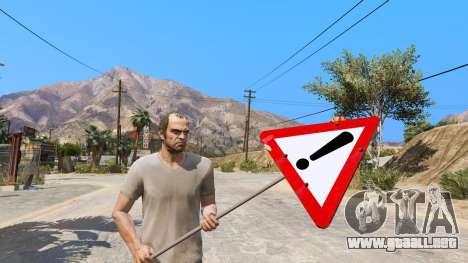 GTA 5 Las señales de la carretera