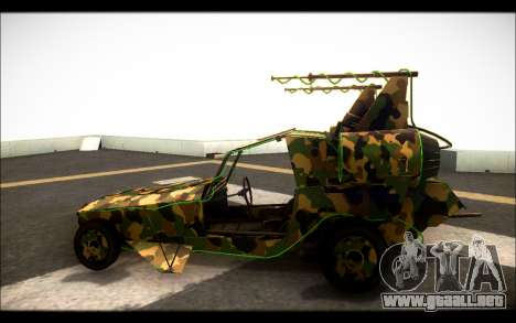 Camo Space Docker para GTA San Andreas left