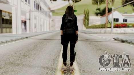 Christy Battle Suit 2 (Resident Evil) para GTA San Andreas tercera pantalla