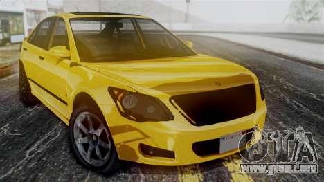 GTA 5 Karin Asterope para la visión correcta GTA San Andreas