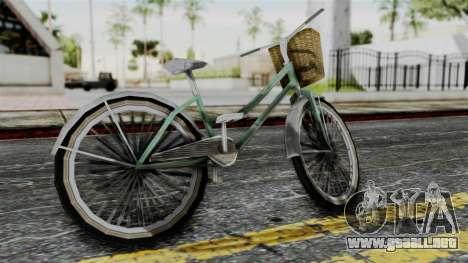 Olad Bike from Bully para GTA San Andreas left