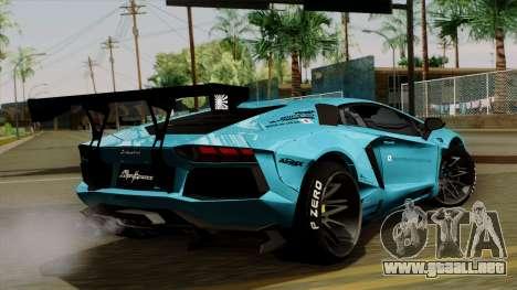 Lamborghini Aventador LB Performance para GTA San Andreas left