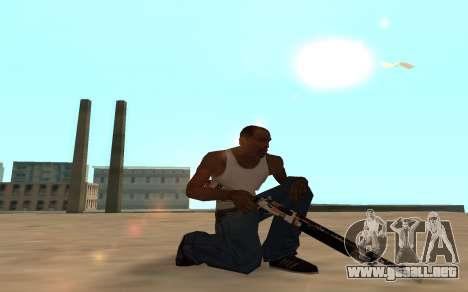 Asiimov Weapon Pack v2 para GTA San Andreas sexta pantalla