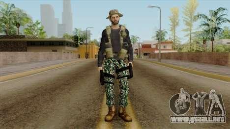 Autodefensa v2 para GTA San Andreas segunda pantalla