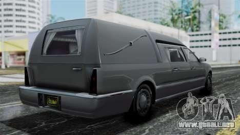 GTA 5 Albany Romero IVF para GTA San Andreas left