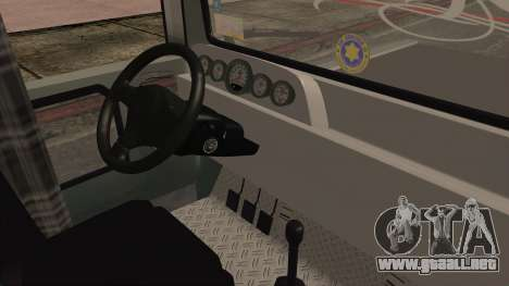 Milwaukee Motors Custom Jeepney para la visión correcta GTA San Andreas