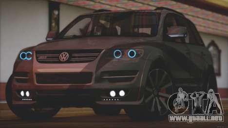 Volkswagen Touareg R50 2008 para la visión correcta GTA San Andreas