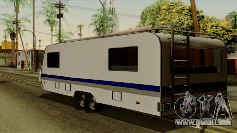 Camper Trailer para GTA San Andreas left