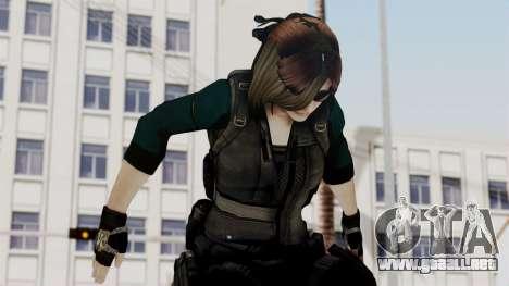 Christy Battle Suit (Resident Evil) para GTA San Andreas