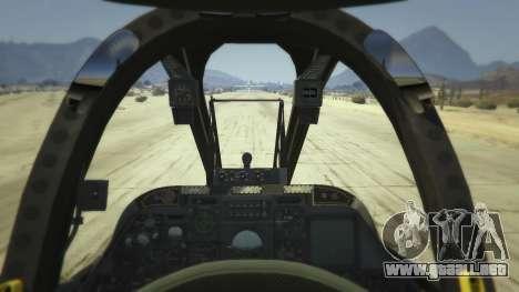 GTA 5 A-10A Thunderbolt II 1.1 segunda captura de pantalla