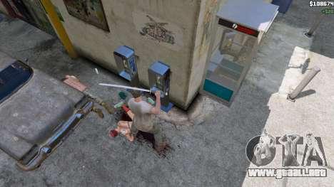 GTA 5 Katana quinta captura de pantalla