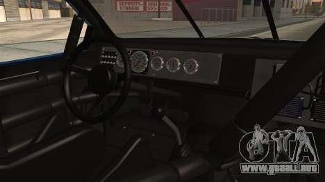 Chevrolet Lumina NASCAR 1992 para la visión correcta GTA San Andreas