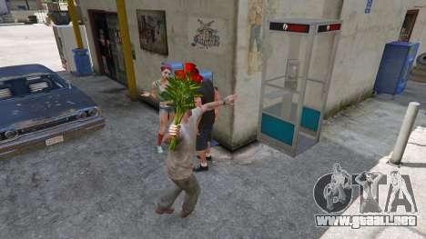 GTA 5 Un ramo de flores tercera captura de pantalla