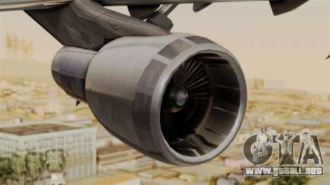 Boeing 747 MasKargo para la visión correcta GTA San Andreas