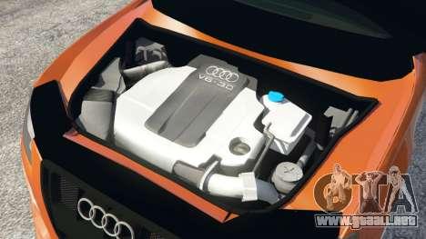 GTA 5 Audi S4 vista lateral derecha
