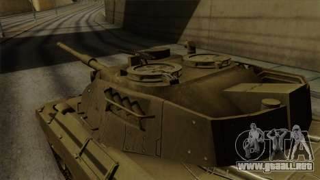 Leopard 1A5 para la visión correcta GTA San Andreas