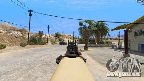 GTA 5 TAR-21 из Battlefield 4 sexta captura de pantalla